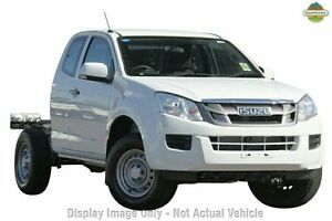 2015 Isuzu D-MAX TF MY15 SX (4x4) Splash White 5 Speed Automatic Spacecab Arndell Park Blacktown Area Preview