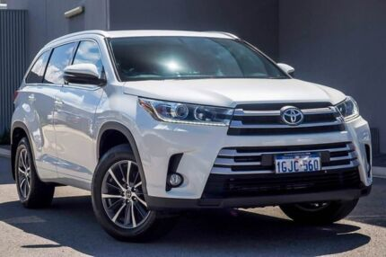 2017 Toyota Kluger GSU50R GXL 2WD White 8 Speed Sports Automatic Wagon Osborne Park Stirling Area Preview