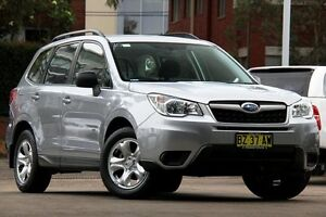 2014 Subaru Forester MY14 2.5I Silver 6 Speed Continuous Variable Wagon Mosman Mosman Area Preview