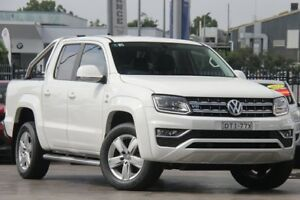2017 Volkswagen Amarok 2H MY18 TDI550 4MOTION Perm Highline White 8 Speed Automatic Utility Penrith Penrith Area Preview