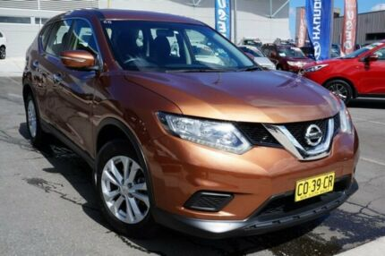 2014 Nissan X-Trail T32 ST X-tronic 4WD Gold 7 Speed Constant Variable Wagon