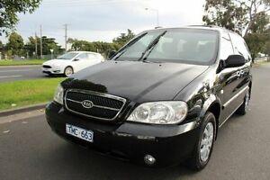 2005 Kia Carnival MY04 LS Black 4 Speed Automatic Wagon