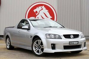 2008 Holden Ute VE SV6 60th Anniversary Silver 5 Speed Sports Automatic Utility Lansvale Liverpool Area Preview