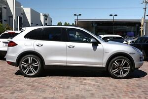 2013 Porsche Cayenne 92A MY13 Diesel Tiptronic Silver 8 Speed Sports Automatic Wagon Osborne Park Stirling Area Preview