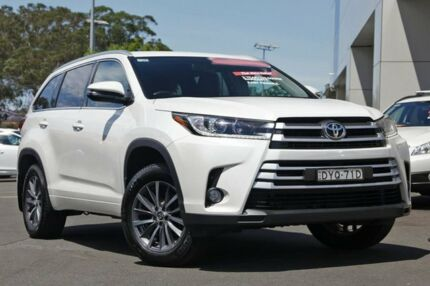 2017 Toyota Kluger GSU50R GXL 2WD White 8 Speed Sports Automatic Wagon Kirrawee Sutherland Area Preview