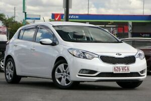 2014 Kia Cerato YD MY15 S White 6 Speed Sports Automatic Hatchback Brendale Pine Rivers Area Preview