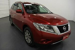 2015 Nissan Pathfinder R52 MY15 ST (4x2) Cayenne Red Continuous Variable Wagon Moorabbin Kingston Area Preview
