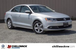 2013 Volkswagen Jetta Sedan Comfortline TDI ONE OWNER, BC CAR, S
