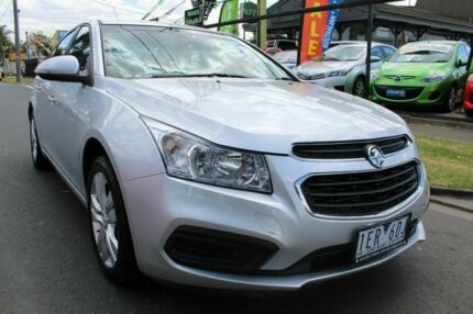 2015 Holden Cruze JH Series II MY16 Equipe Silver 6 Speed Sports Automatic Sedan West Footscray Maribyrnong Area Preview