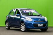 2014 Nissan Micra K13 MY13 ST Blue 5 Speed Manual Hatchback Ringwood East Maroondah Area Preview