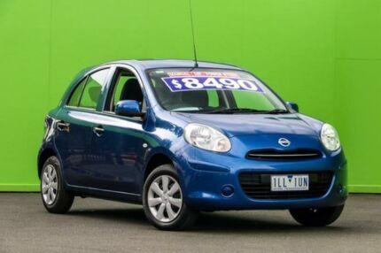 2014 Nissan Micra K13 MY13 ST Blue 5 Speed Manual Hatchback Ringwood East Maroondah Area Preview