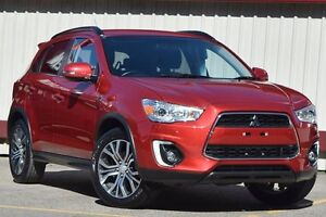 2015 Mitsubishi ASX XB MY15.5 LS (2WD) Burgundy Continuous Variable Wagon Homebush Strathfield Area Preview