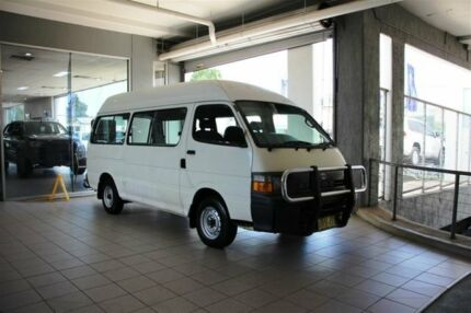 1997 Toyota Hiace RZH125 Commuter White 5 Speed Manual Bus Thornleigh Hornsby Area Preview