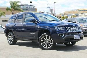 2013 Jeep Compass MK MY13 Limited CVT Auto Stick True Blue 6 Speed Constant Variable Wagon Northbridge Perth City Area Preview