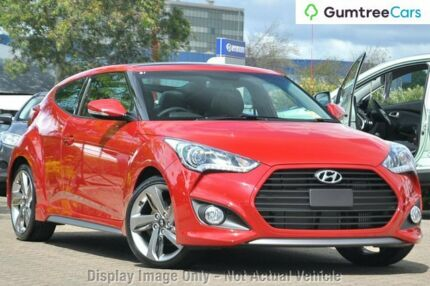 2014 Hyundai Veloster FS3 SR Coupe Turbo Veloster Red 6 Speed Sports Automatic Hatchback