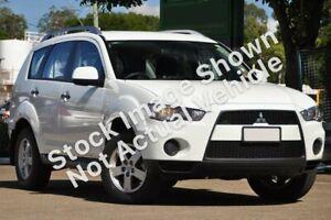 2010 Mitsubishi Outlander ZH MY10 LS White 6 Speed CVT Auto Sequential Wagon Edgeworth Lake Macquarie Area Preview