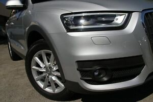 2012 Audi Q3 8U 2.0 TDI Quattro (130KW) Silver 7 Speed Auto Dual Clutch Wagon Petersham Marrickville Area Preview