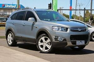 2012 Holden Captiva CG Series II MY12 7 AWD LX Grey 6 Speed Sports Automatic Wagon Coburg Moreland Area Preview