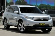 2011 Toyota Kluger GSU40R MY11 Upgrade KX-S (FWD) Silver 5 Speed Automatic Wagon Old Guildford Fairfield Area Preview