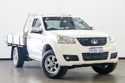 2013 Great Wall V240 K2 MY13 4x2 White 5 Speed Manual Cab Chassis Myaree Melville Area Preview