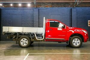 2012 Holden Colorado RG MY13 LX Red 5 Speed Manual Cab Chassis Northbridge Perth City Area Preview