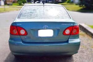 2005 Toyota Corolla Berline