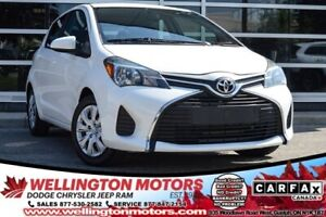 2015 Toyota Yaris LE / Low K's / Cert. & E-Tested / 4 New Tires