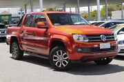 2014 Volkswagen Amarok 2H MY14 TDI420 4MOTION Perm Canyon Orange 8 Speed Automatic Utility Osborne Park Stirling Area Preview