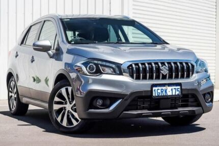 2017 Suzuki S-Cross JY Turbo Prestige Grey 6 Speed Sports Automatic Hatchback Osborne Park Stirling Area Preview