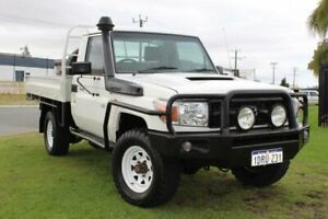 2008 Toyota Landcruiser VDJ79R Workmate 5 Speed Manual Cab Chassis Wangara Wanneroo Area Preview