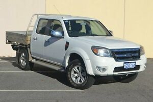 2010 Ford Ranger PK XLT Crew Cab White 5 Speed Manual Utility Midland Swan Area Preview