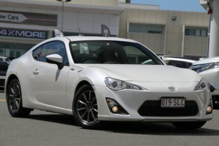 2012 Toyota 86 ZN6 GT White 6 Speed Sports Automatic Coupe
