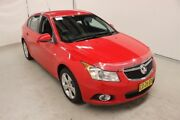 2014 Holden Cruze JH Series II MY14 Equipe Red 5 Speed Manual Hatchback Maryville Newcastle Area Preview