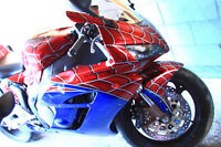 RARE Collectible Custom Painted Spiderman 1000RR