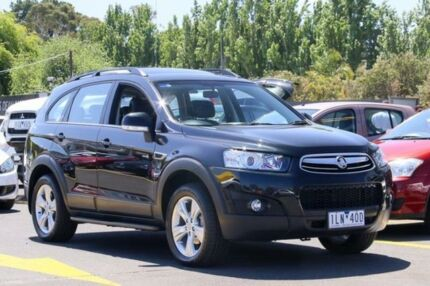 2013 Holden Captiva CG Series II MY12 7 AWD CX Black 6 Speed Sports Automatic Wagon Ringwood East Maroondah Area Preview