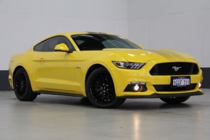 2016 Ford Mustang FM Fastback GT 5.0 V8 Yellow 6 Speed Manual Coupe