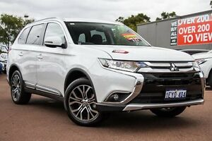 2016 Mitsubishi Outlander ZK MY16 LS 4WD White 6 Speed Constant Variable Wagon Cannington Canning Area Preview
