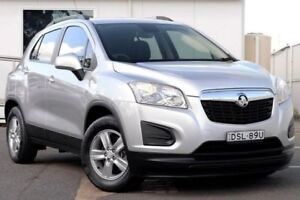 2013 Holden Trax TJ MY14 LS Silver 6 Speed Automatic Wagon Gosford Gosford Area Preview