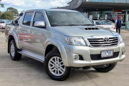 2013 Toyota Hilux Silver Automatic Utility