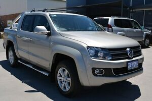 2013 Volkswagen Amarok 2H MY13 TDI420 Trendline (4x4) Bronze 8 Speed Automatic Dual Cab Utility Welshpool Canning Area Preview