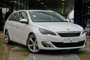 2014 Peugeot 308 T9 Allure Touring White 6 Speed Sports Automatic Wagon Myaree Melville Area Preview