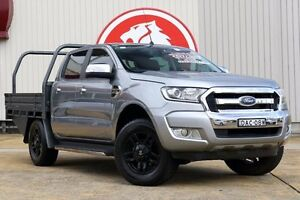 2015 Ford Ranger PX MkII XLT Double Cab Grey 6 Speed Sports Automatic Utility Lansvale Liverpool Area Preview