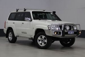 2013 Nissan Patrol GU Viii ST (4x4) White 5 Speed Manual Wagon Bentley Canning Area Preview