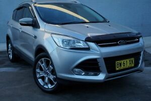 2014 Ford Kuga TF Trend PwrShift AWD Silver 6 Speed Sports Automatic Dual Clutch Wagon Pearce Woden Valley Preview