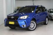 2016 Subaru Forester S4 MY16 tS CVT AWD Blue 8 Speed Constant Variable Wagon Castle Hill The Hills District Preview