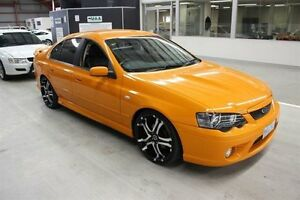 2007 Ford Falcon BF Mk II XR8 Orange 6 Speed Sports Automatic Sedan Maryville Newcastle Area Preview