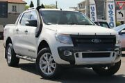 2012 Ford Ranger PX Wildtrak Double Cab White 6 Speed Sports Automatic Utility Nundah Brisbane North East Preview