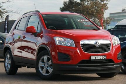 2014 Holden Trax TJ MY15 LS Red 6 Speed Automatic Wagon Rosebery Inner Sydney Preview