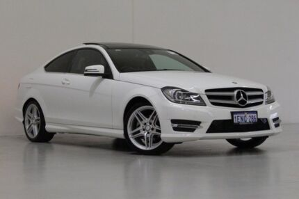 2014 Mercedes-Benz C250 W204 MY14 CDI White 7 Speed Automatic G-Tronic Coupe