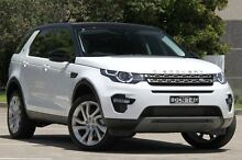 2015 Land Rover Discovery Sport LC MY16 Si4 SE White 9 Speed Automatic Wagon Burwood Burwood Area Preview